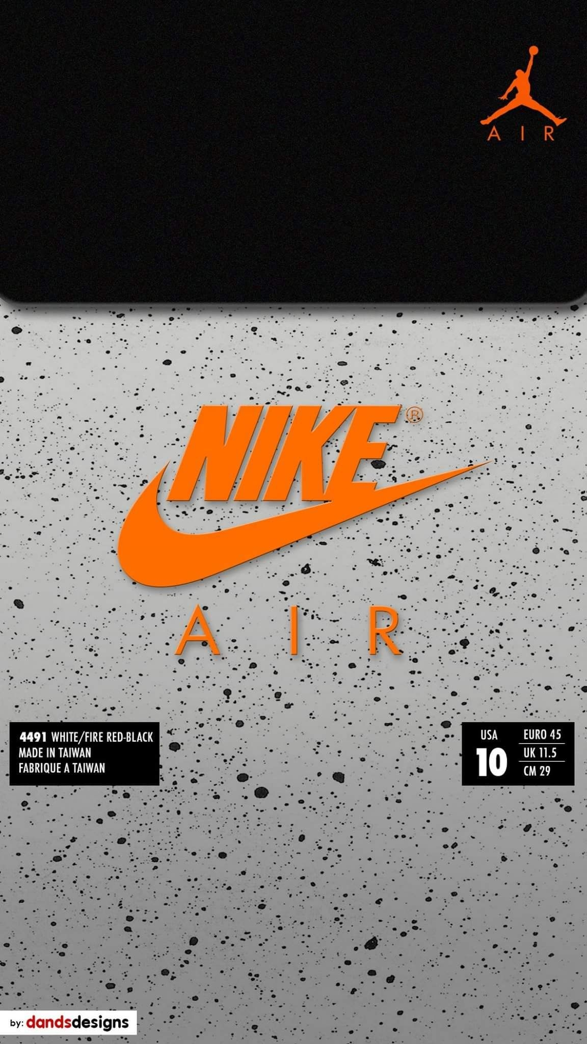 Orange Nike Wallpaper Posted By Ethan Sellers