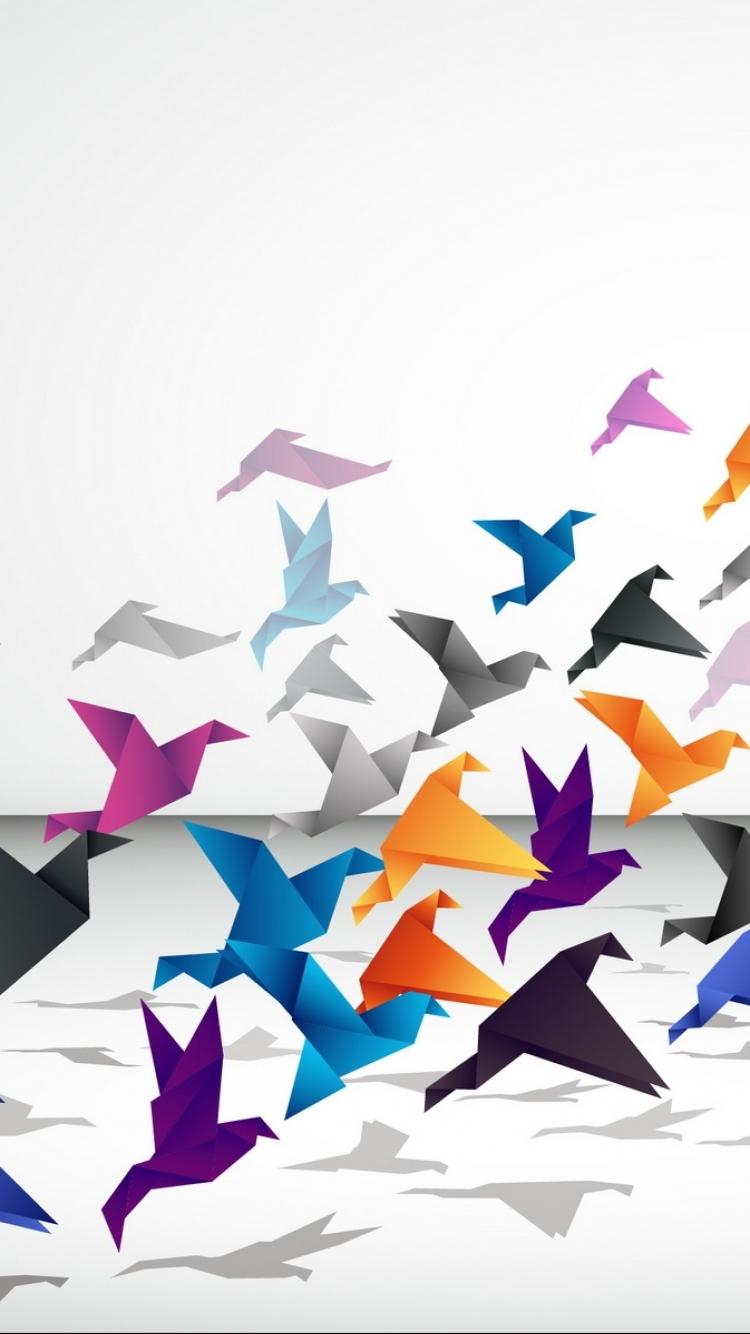 Origami Wallpaper 41122 1680x1050px   1334x750