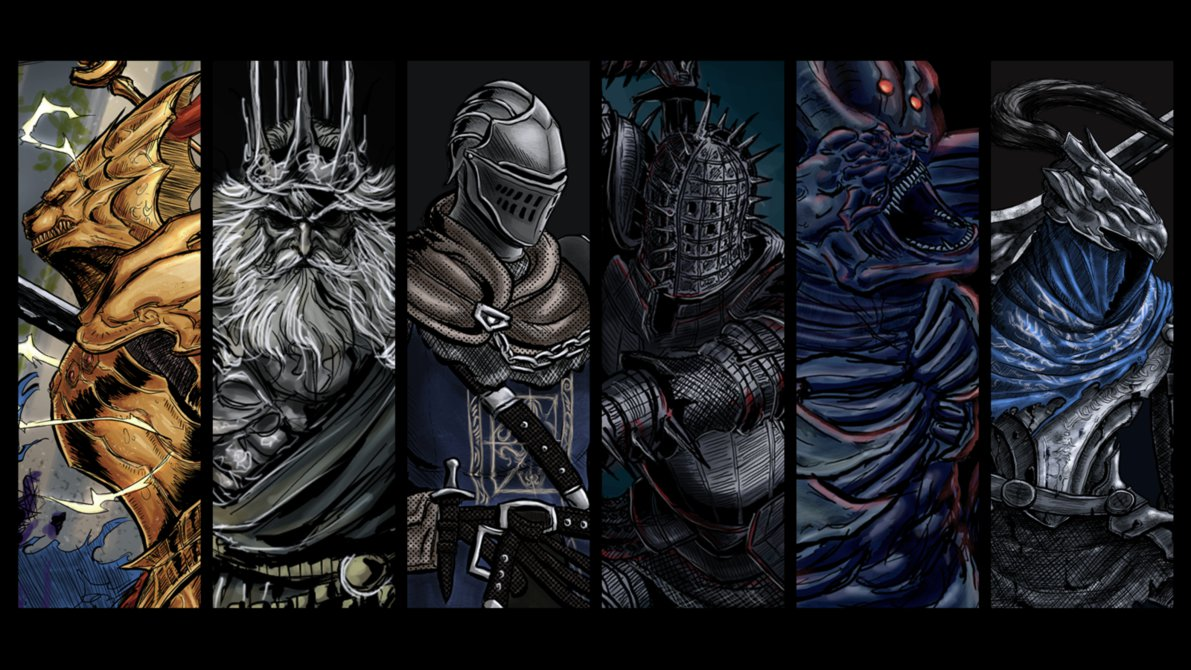 Ornstein And Smough Wallpaper Posted By Sarah Cunningham