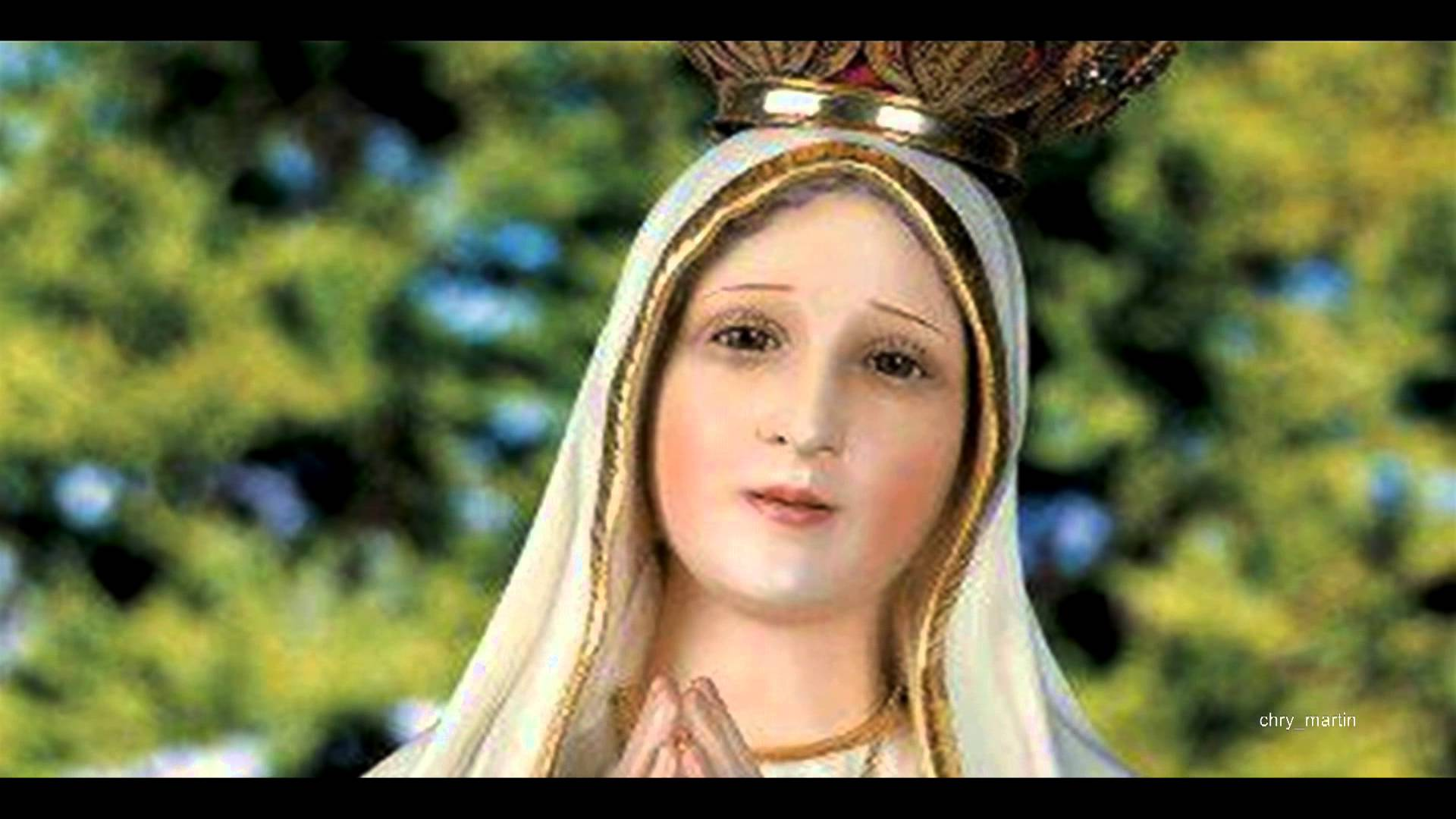 Our Lady Of Fatima Desktop Wallpaper Posted By Christopher Simpson