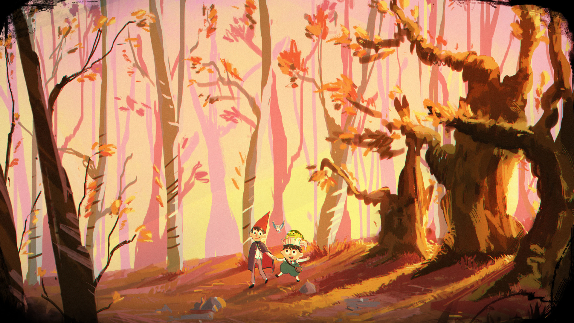 Over The Garden Wall Wallpaper Hd Posted By Zoey Peltier