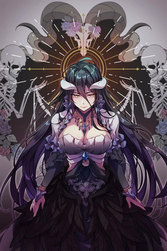 Overlord Albedo Wallpaper Hd Posted By Ethan Simpson