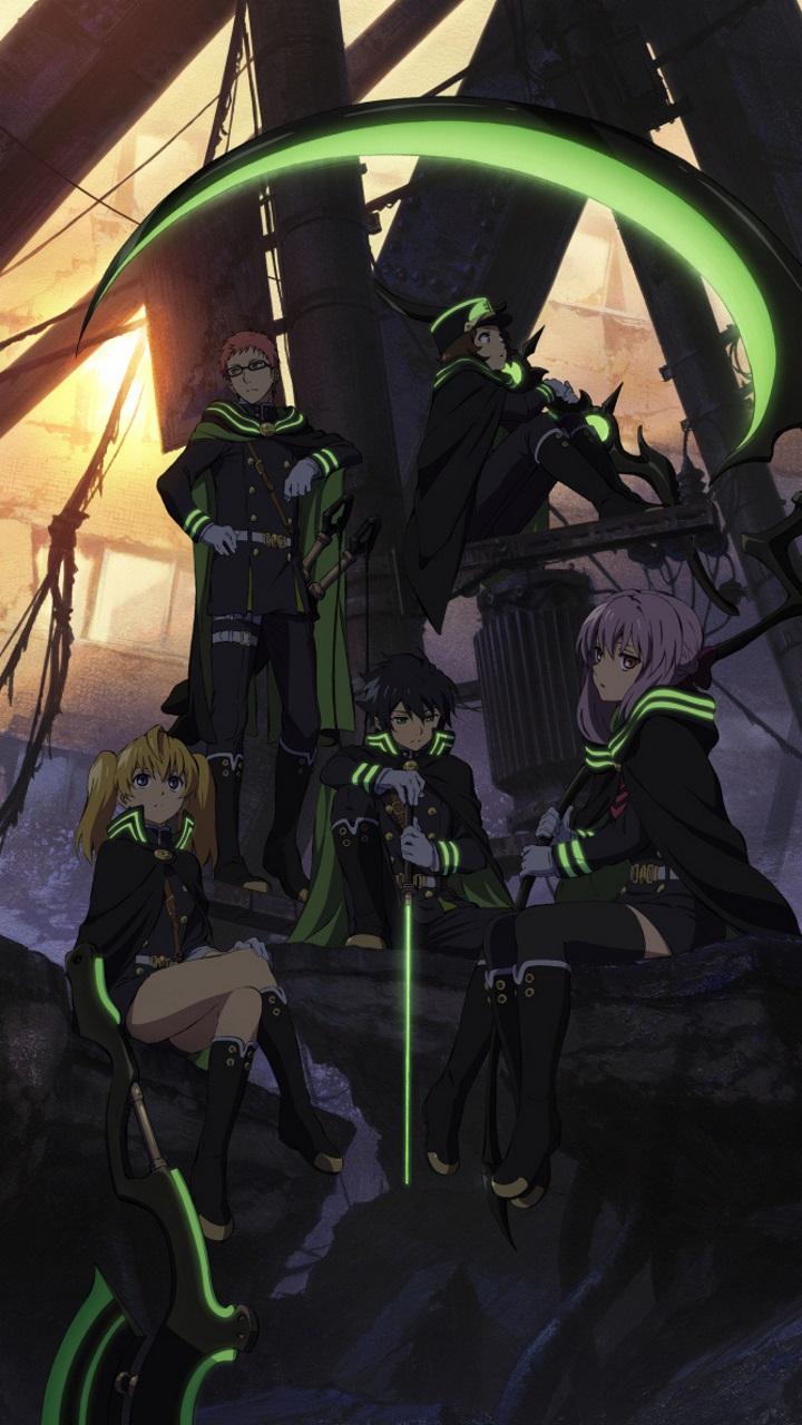 Owari No Seraph Wallpaper Hd Posted By John Johnson