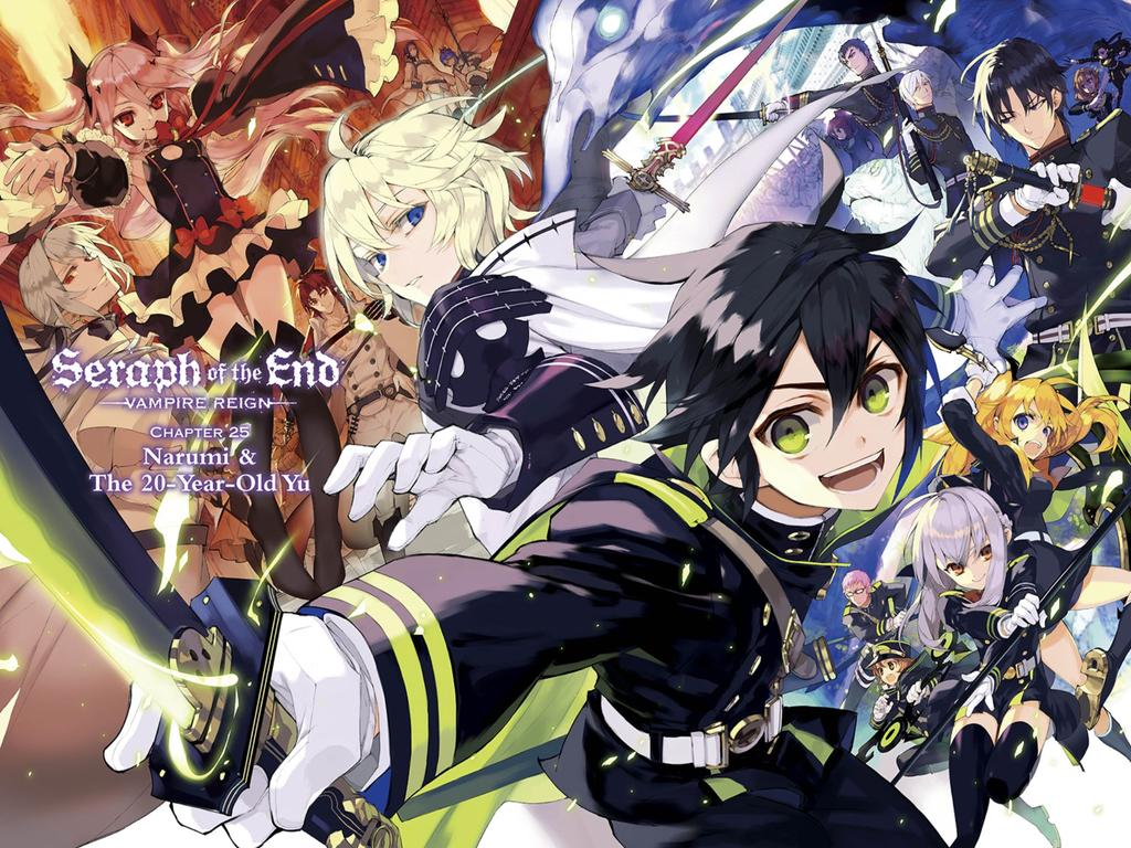 Owari No Seraph Wallpaper Posted By Ethan Sellers