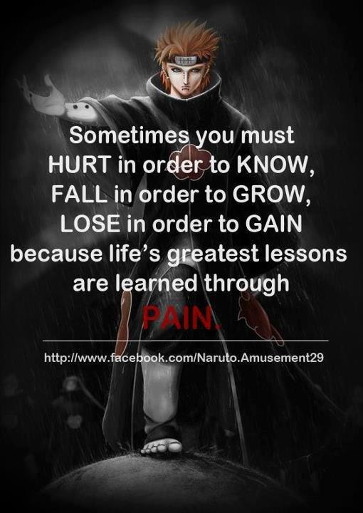 My Favorite Pain Quote Naruto