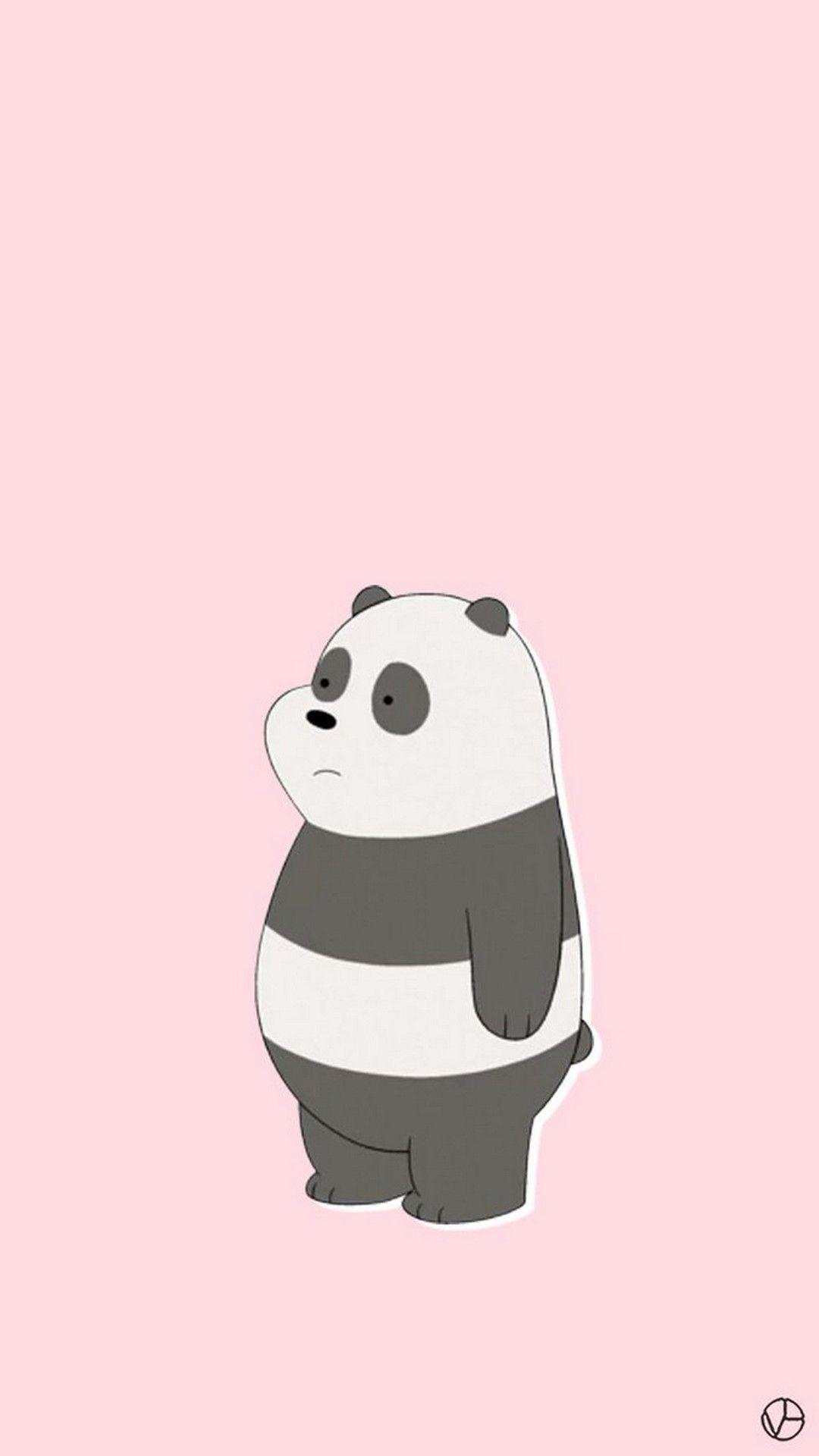 40+ Pink Panda Wallpapers Download at WallpaperBro