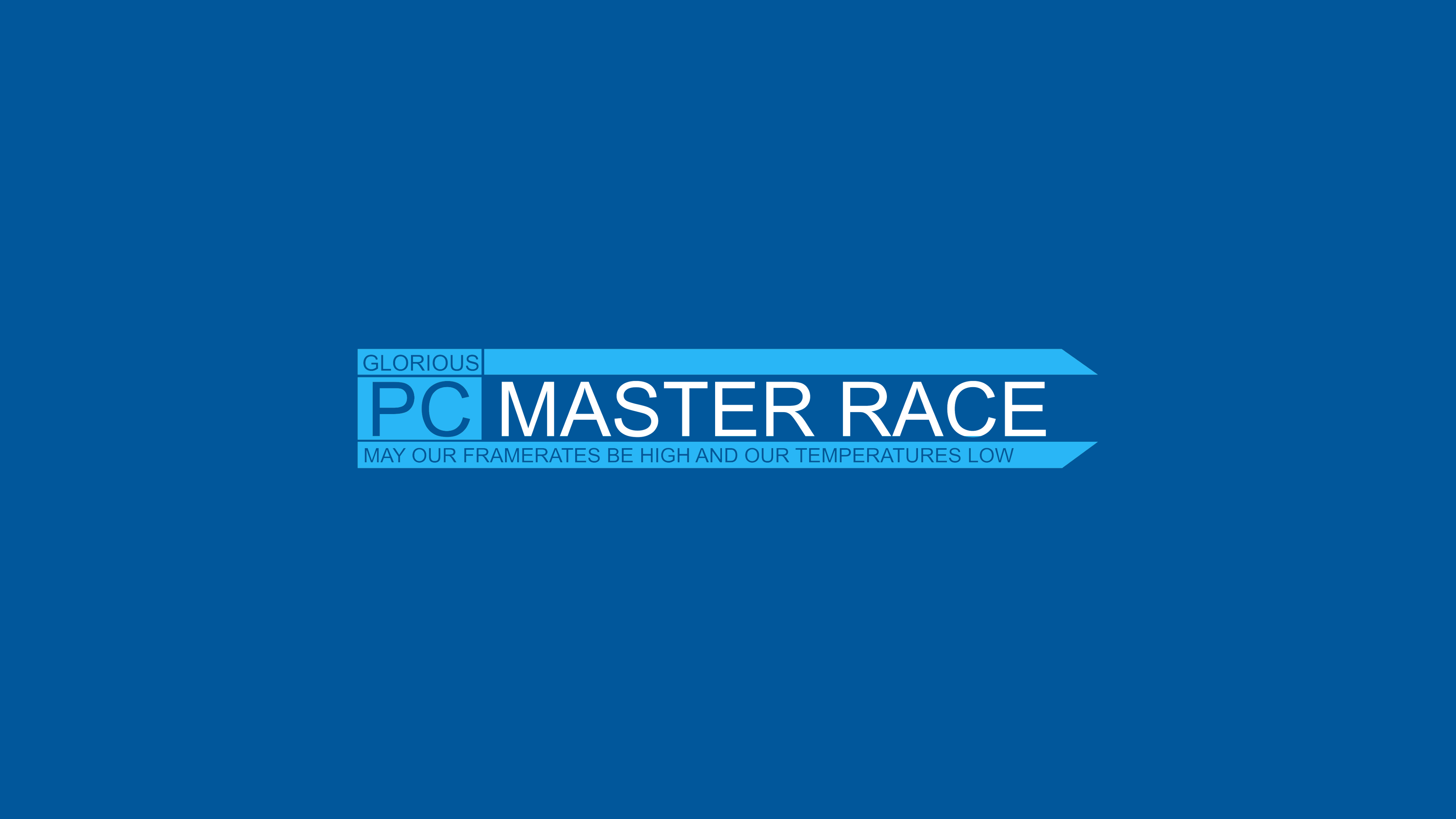 Top Five Glorious Pc Master Race Background
