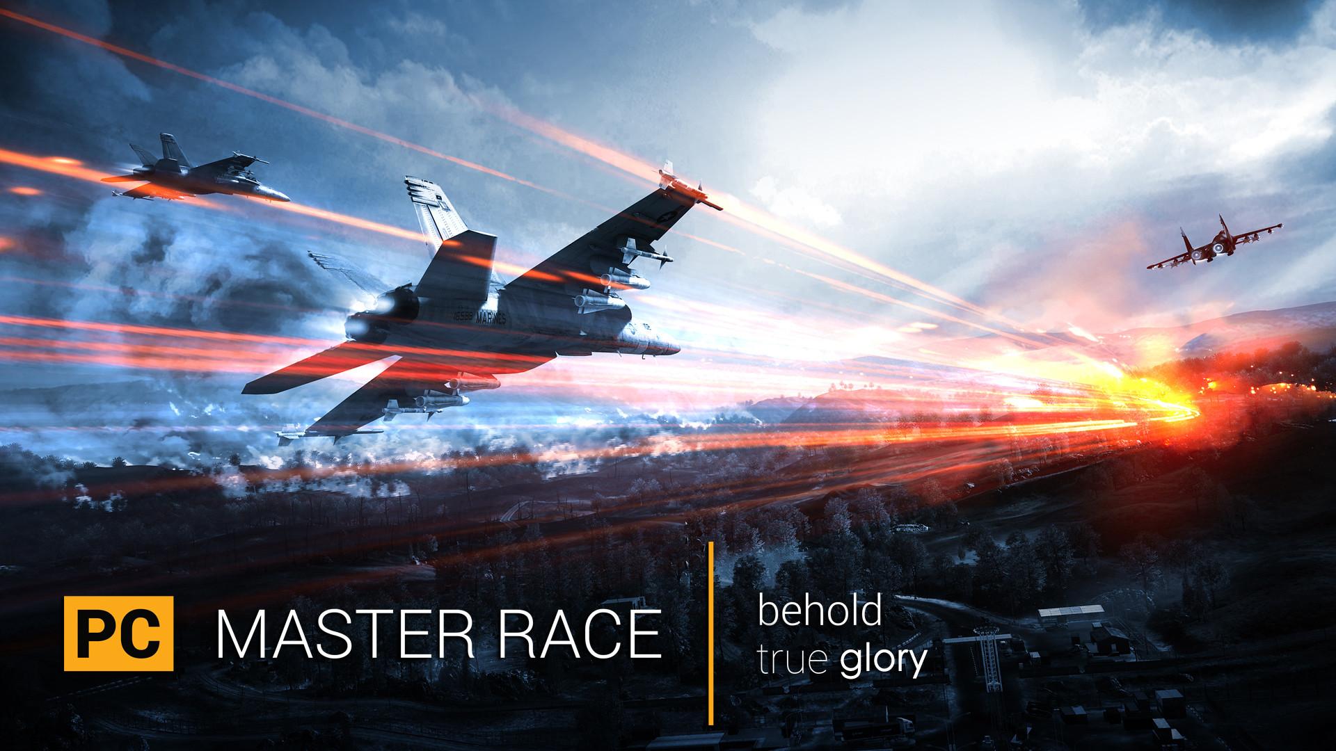 Pc Master Race Wallpaper 4k