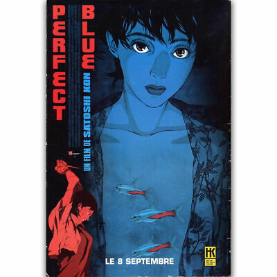 Movie Perfect Blue Mima Kirigoe Silk poster 14 X 24 inch wallpaper