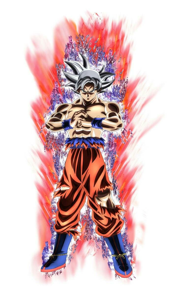 Perfect Ultra Instinct Goku Posted By Christopher Tremblay