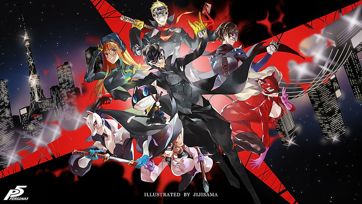 Persona 5 1080p Wallpaper Posted By John Mercado