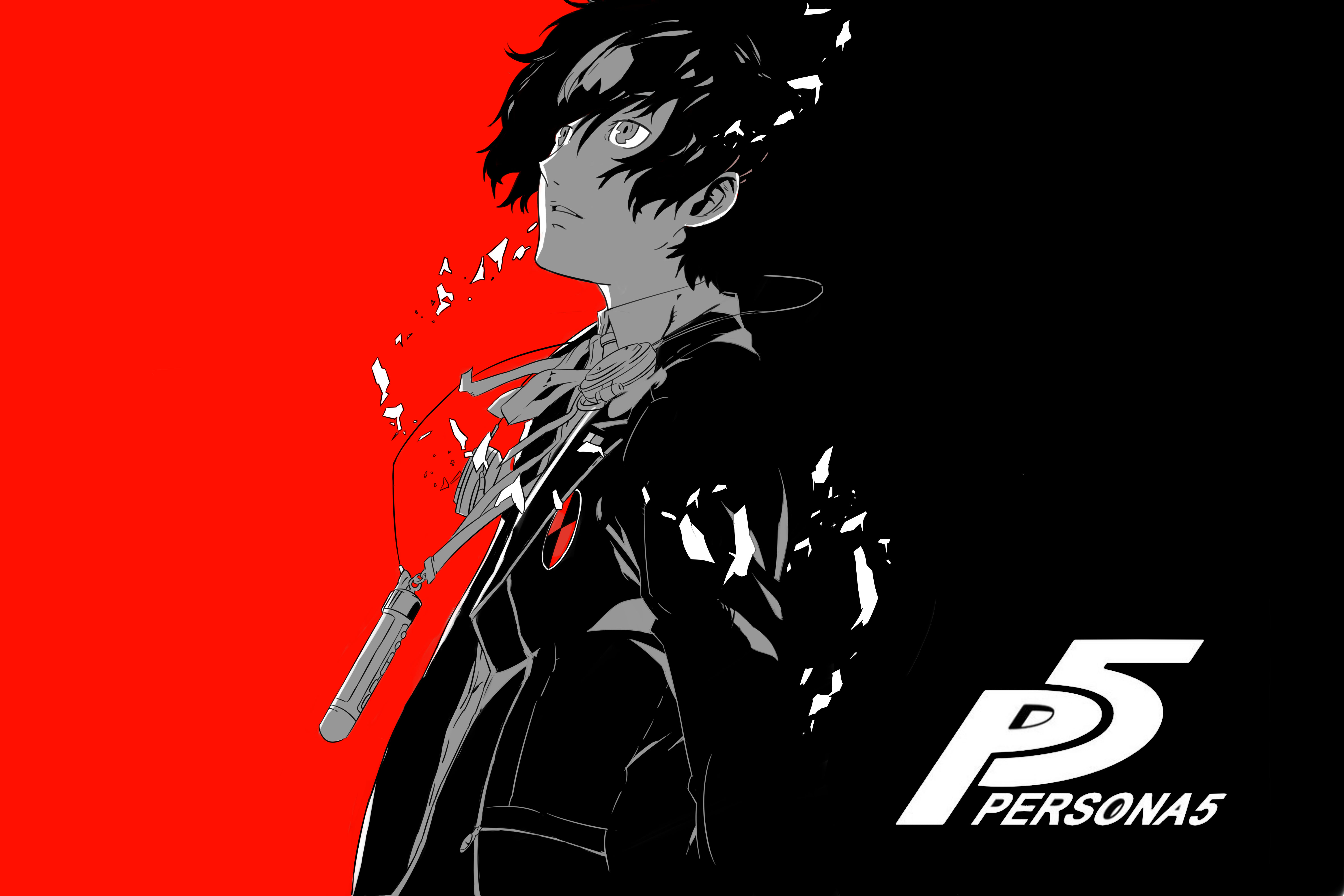 Persona 5 Wallpaper 4k Posted By Christopher Anderson