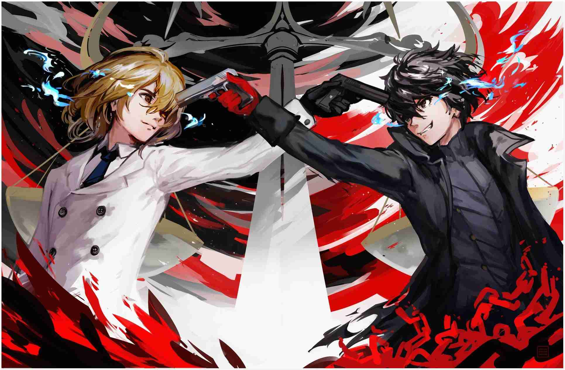 Persona 5 Wallpaper Android Posted By Zoey Tremblay
