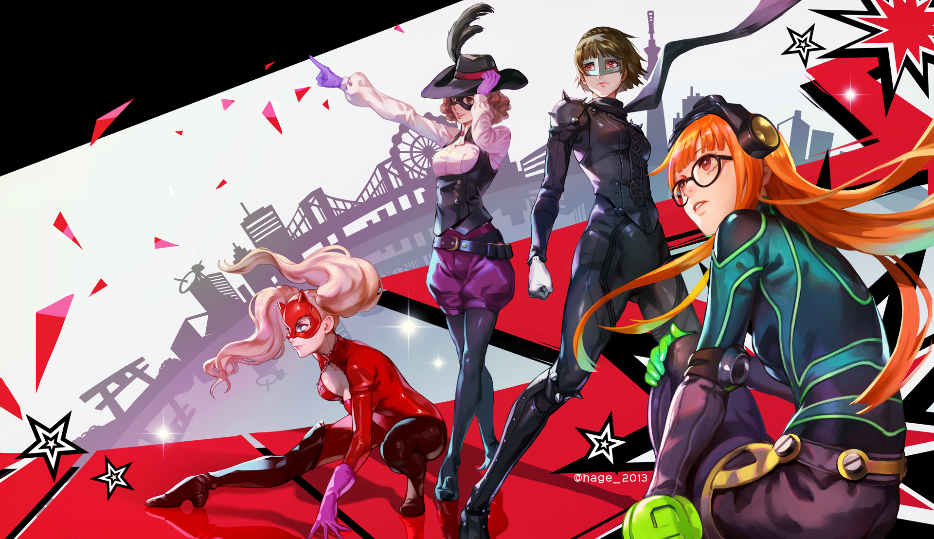 Persona 5 Wallpaper Iphone Posted By John Cunningham
