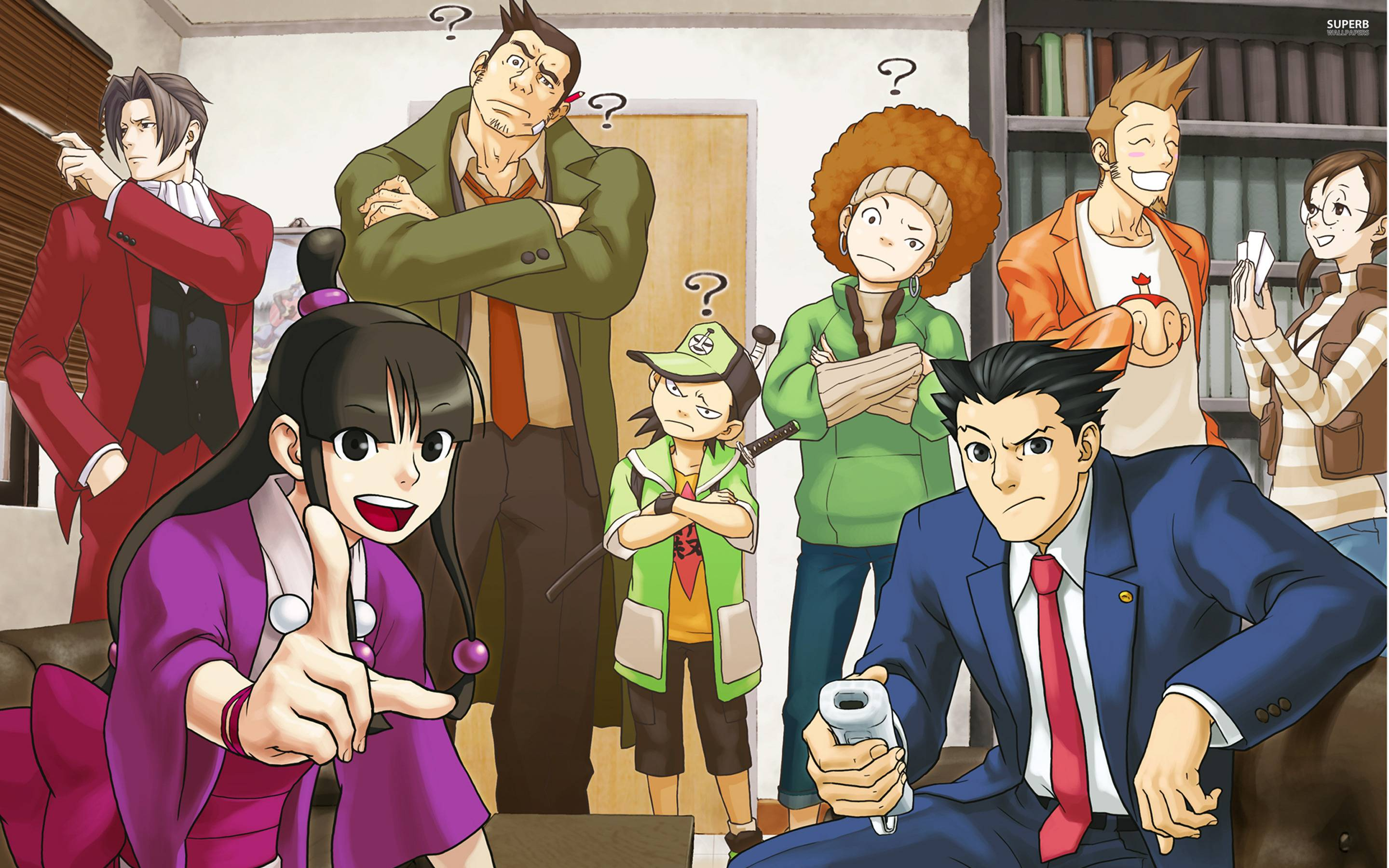 Phoenix Wright Wallpaper 1920x1080 Posted By Sarah Cunningham