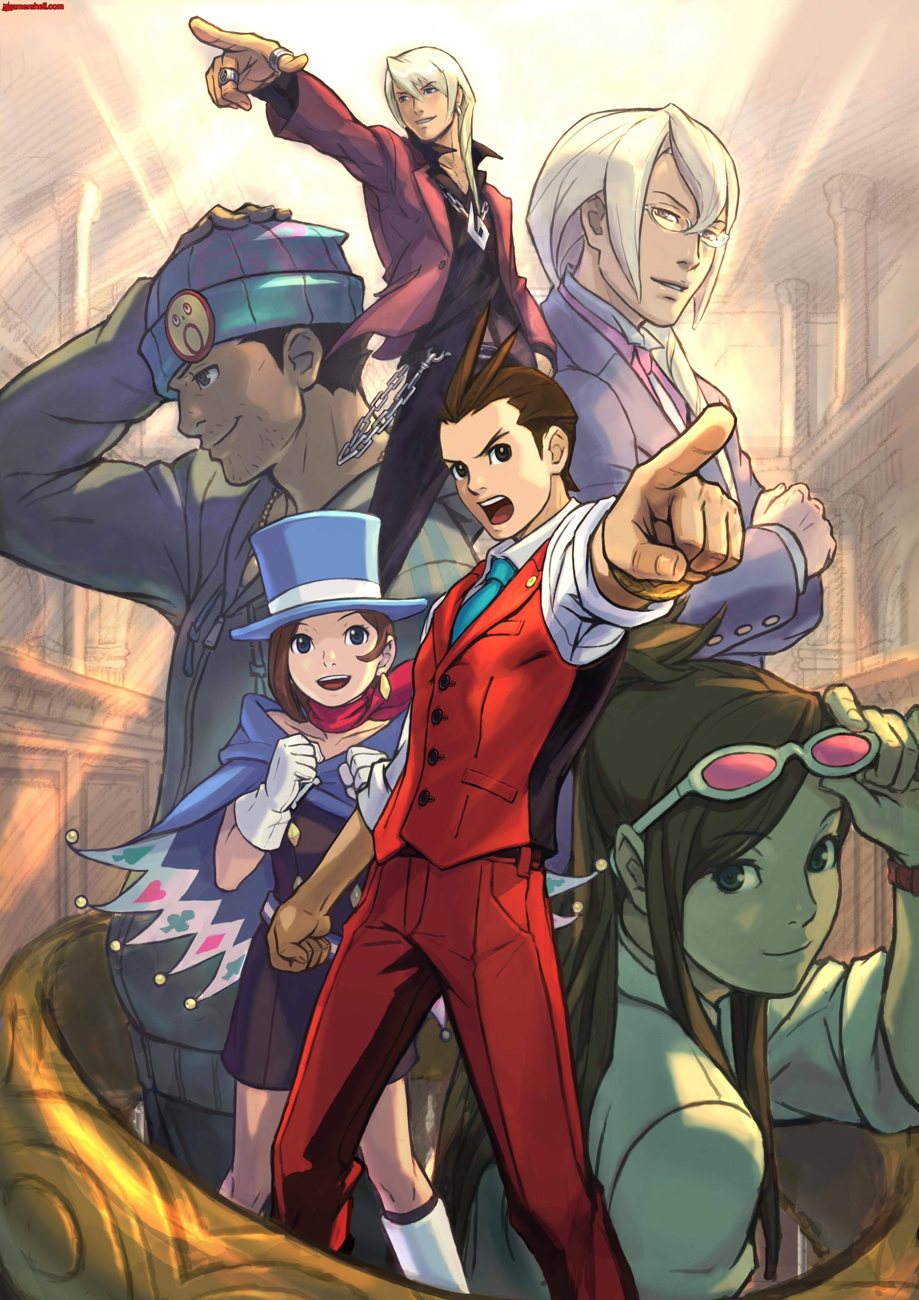 Phoenix Wright Wallpaper Posted By Samantha Walker