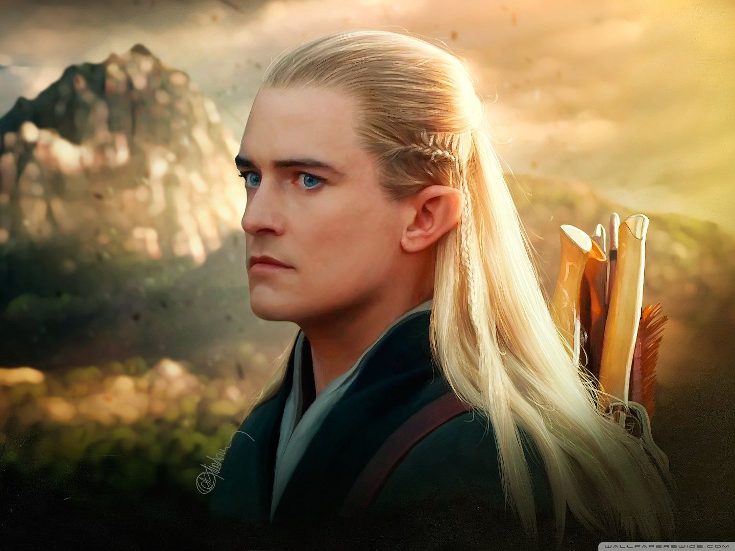 Legolas what do your elf eyes see