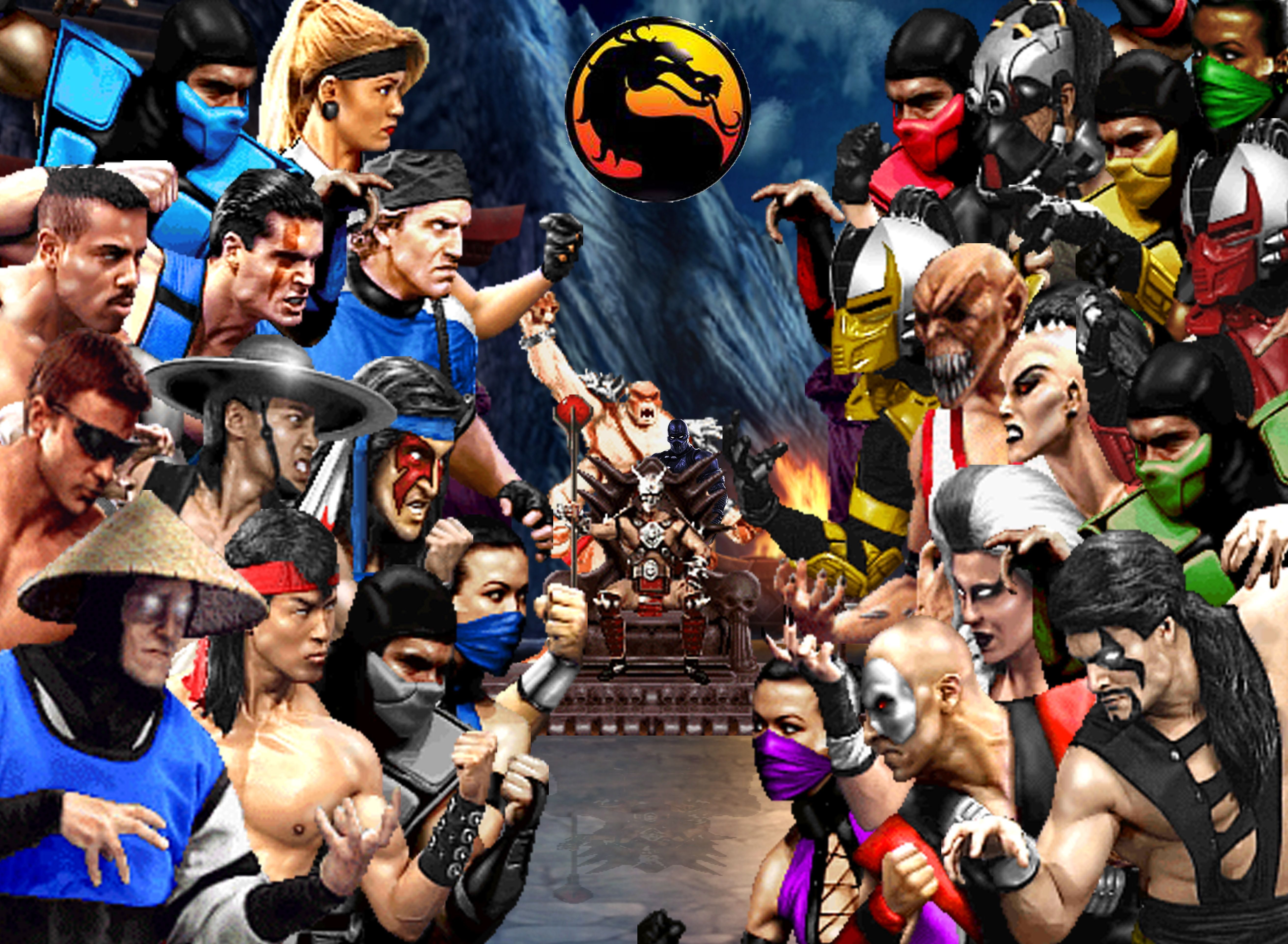 Pictures Of All The Mortal Kombat Characters Posted By Zoey Simpson