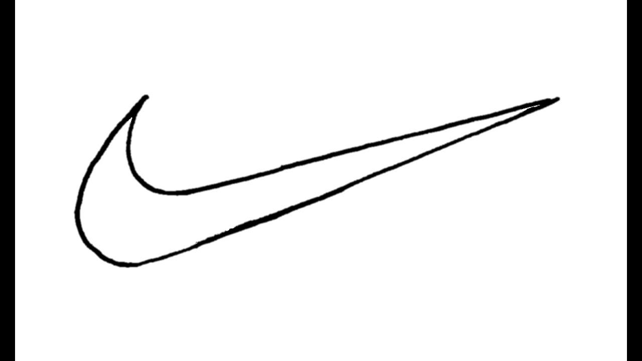 Sutemti Sniegas Prieinama How To Draw Nike Logo Axial Natura Com