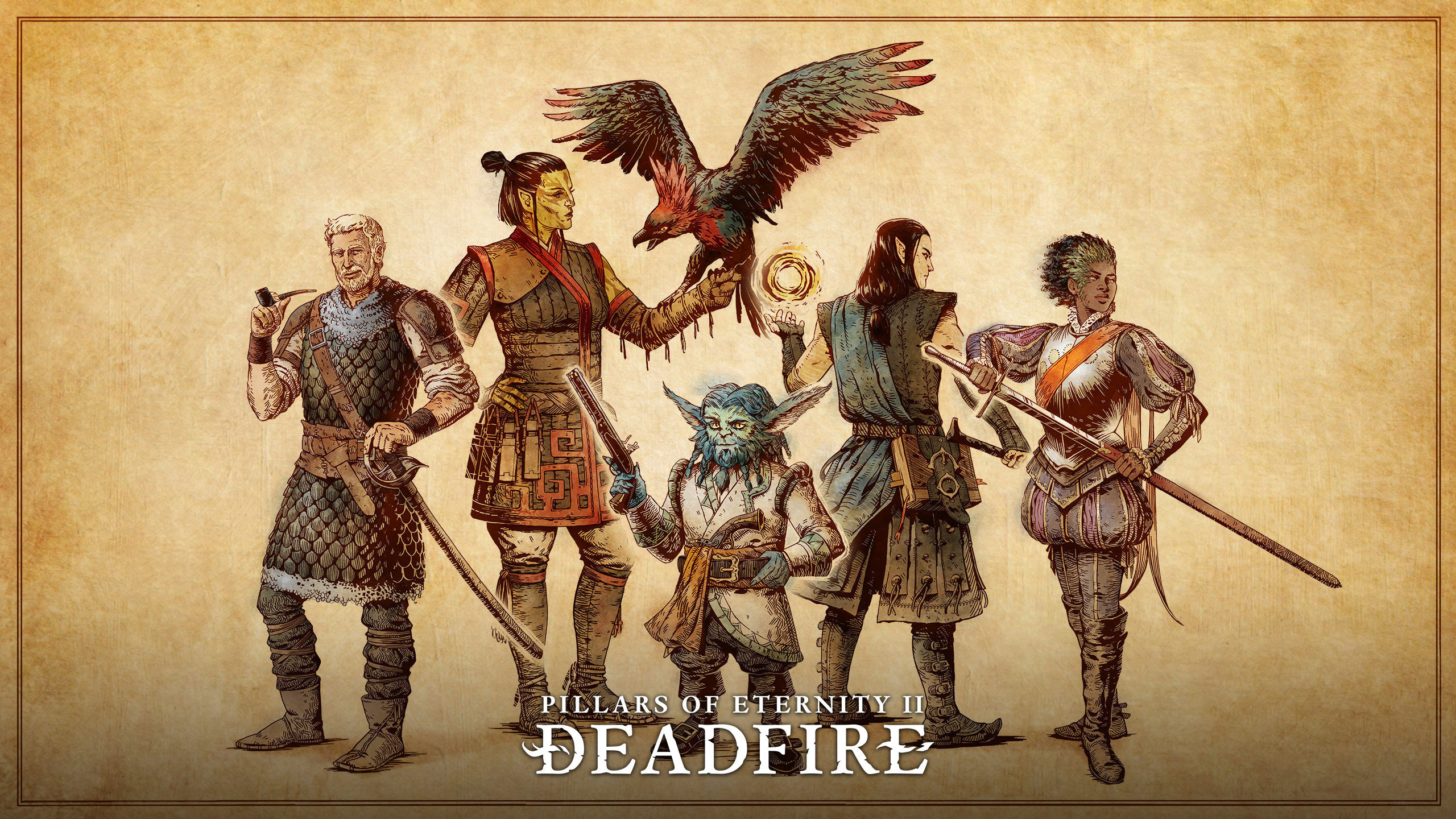 Pillars Of Eternity 2 Deadfire Wallpapers Posted By Samantha Johnson