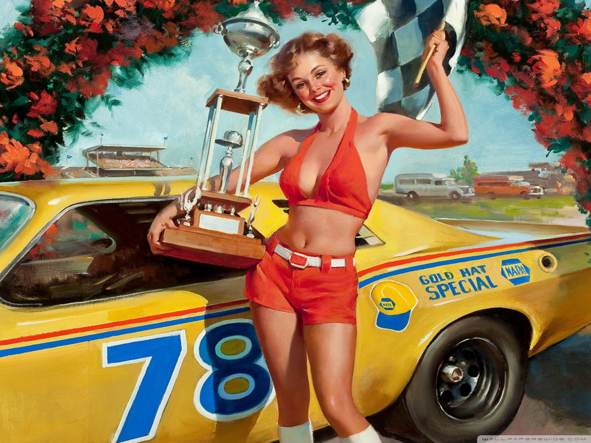 Pin Up Desktop Wallpapers