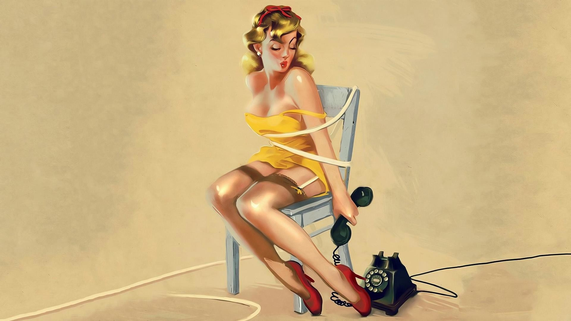 Pin Up Girls Wallpaper Posted By Michelle Anderson