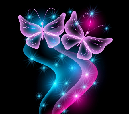 Pink And Black Butterfly Wallpaper Posted By Zoey Mercado