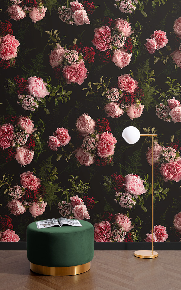 Pink And Black Flower Wallpapers Posted By Christopher Sellers