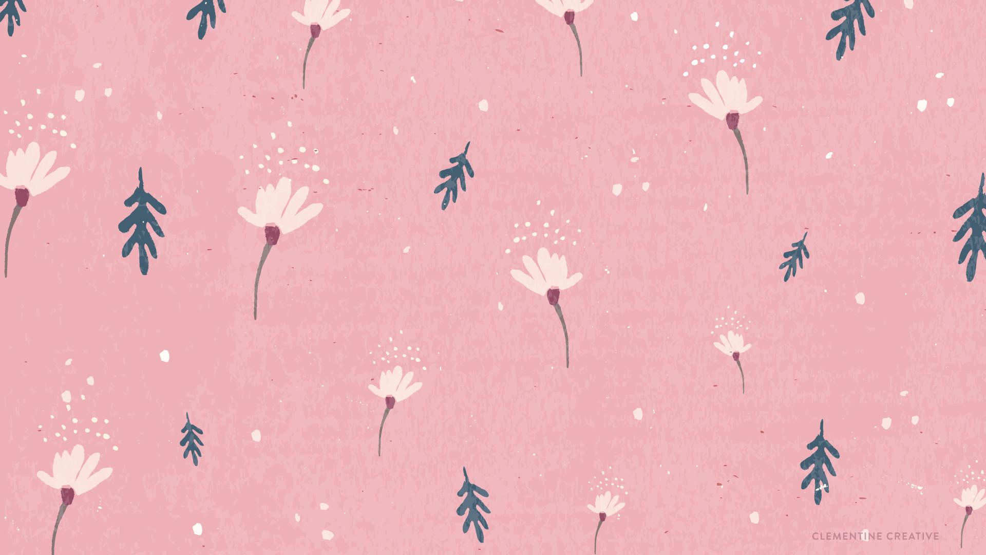 Desktop Backgrounds Wallpaper Aesthetic Pink