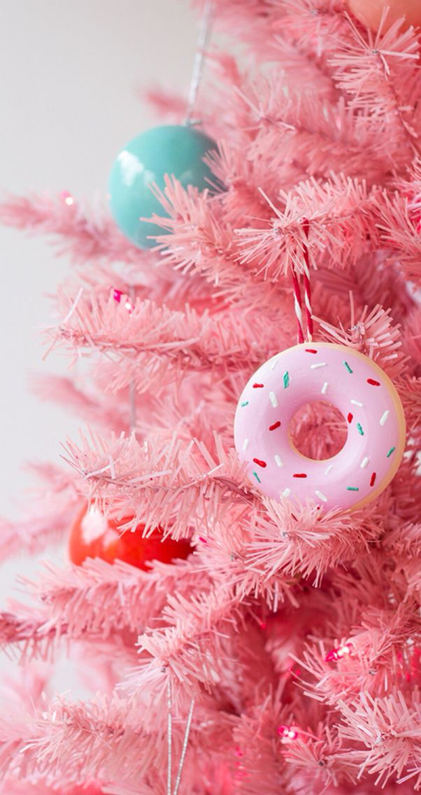 Pink Christmas Tree Wallpaper Posted By Michelle Sellers