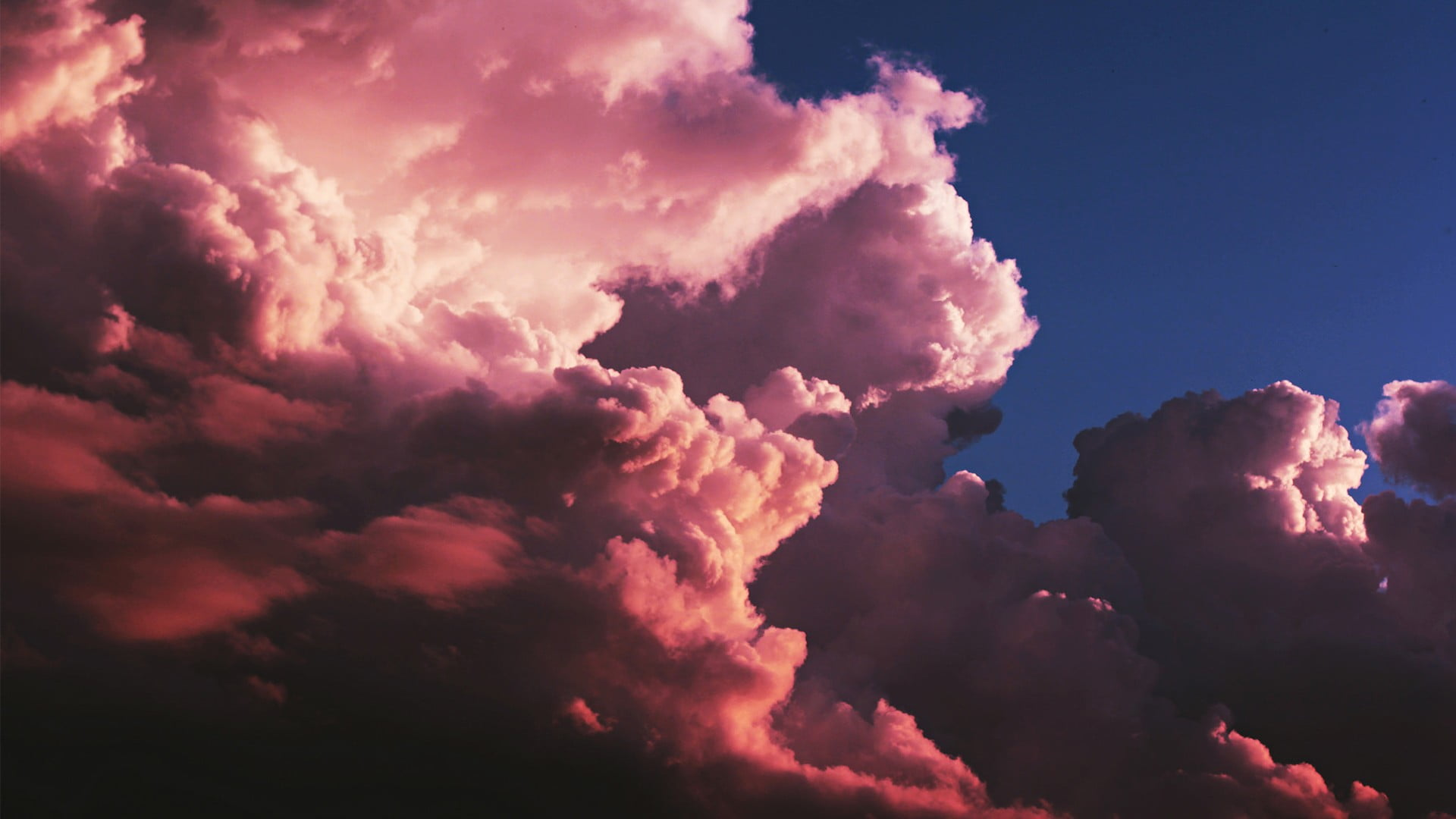 Pink clouds clouds HD wallpaper Wallpaper Flare