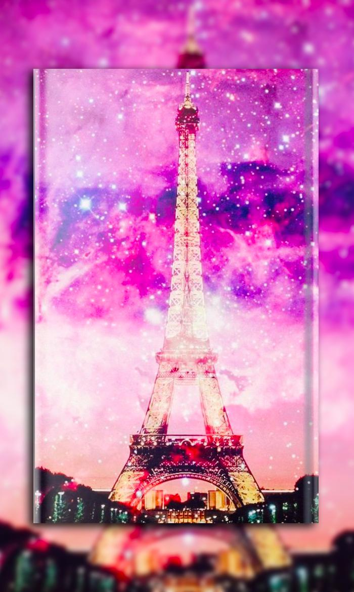 Pink Eiffel Tower Wallpapers Posted By Ryan Simpson