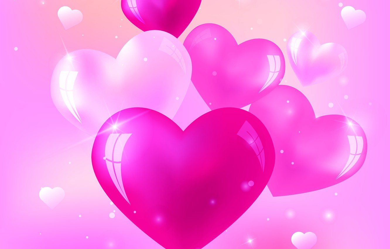 Pink Heart Backgrounds Posted By Christopher Johnson