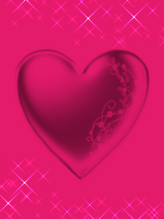 Pink Heart Wallpapers Posted By Michelle Peltier