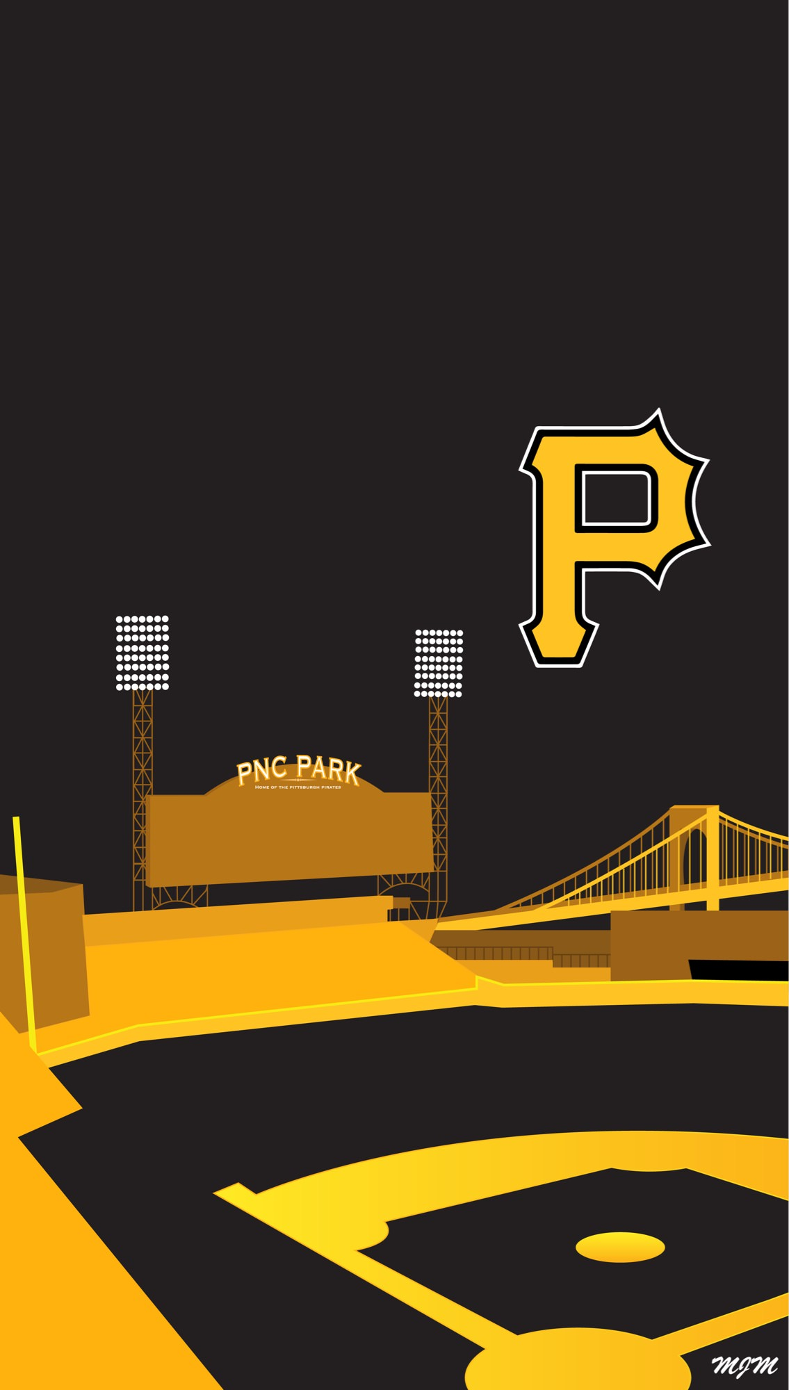 Pittsburgh Pirates Iphone Wallpaper Posted By Ryan Sellers