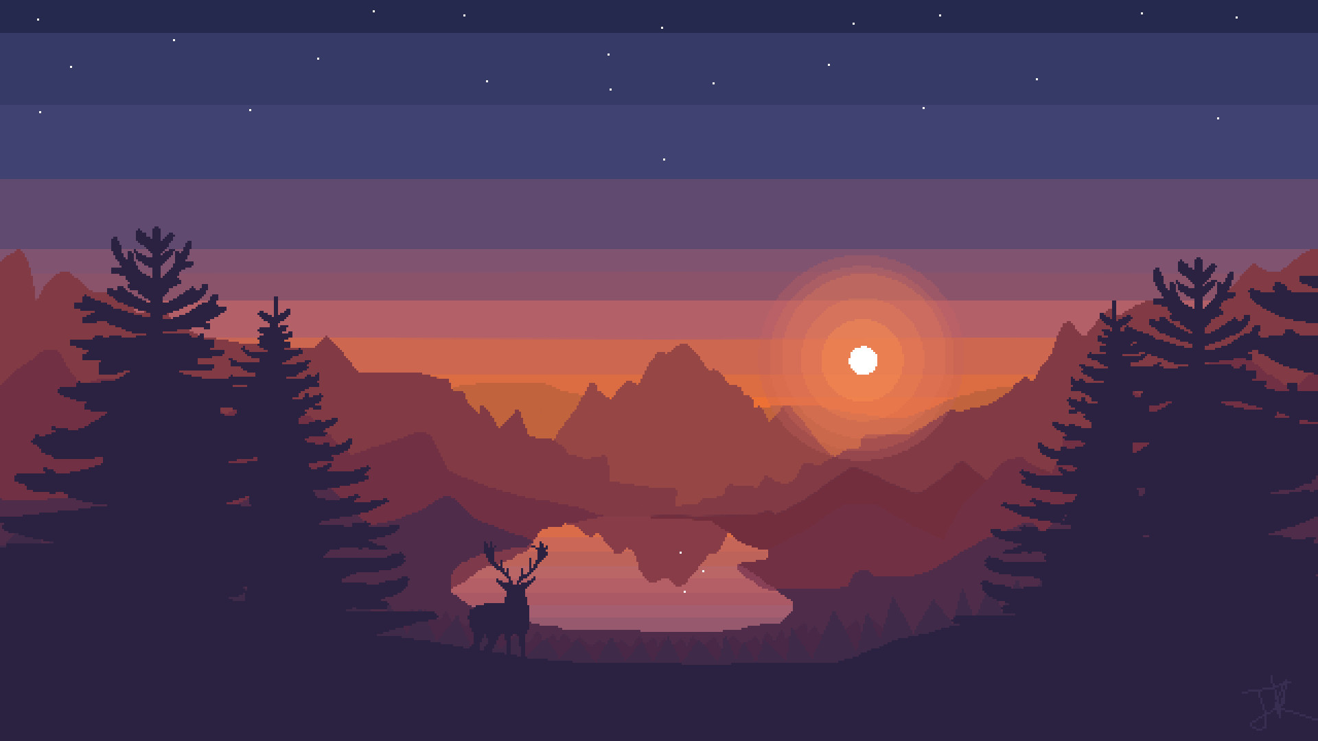 Pixel Art Desktop Wallpaper Posted By Sarah Thompson