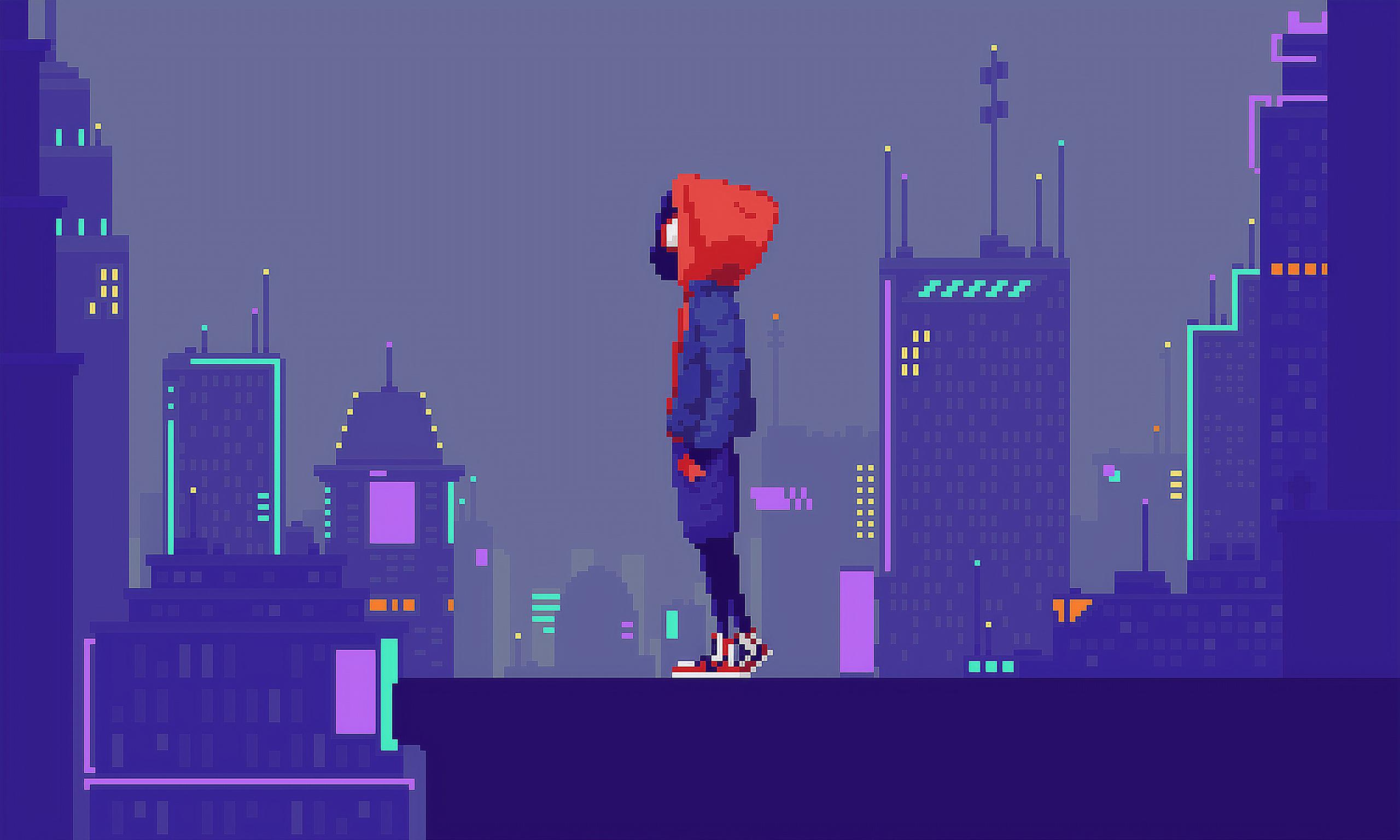 Pixel Art Desktop Wallpaper Posted By Ethan Peltier