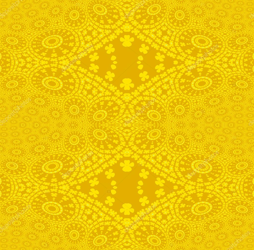 Wallpapers plain Seamless ornaments bright yellow plain