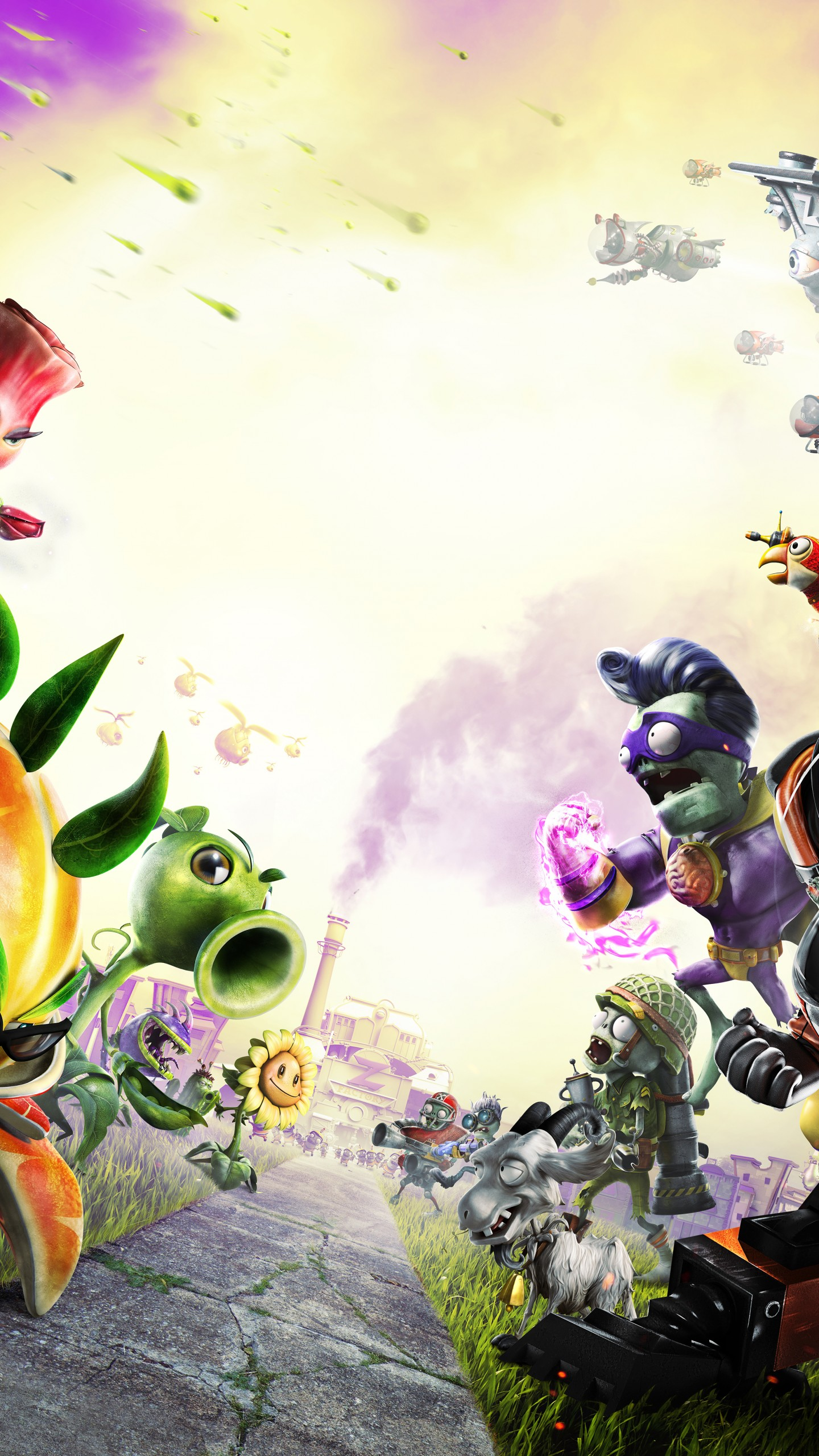 Plants Vs Zombies Garden Warfare Wallpapers Posted By Sarah Thompson