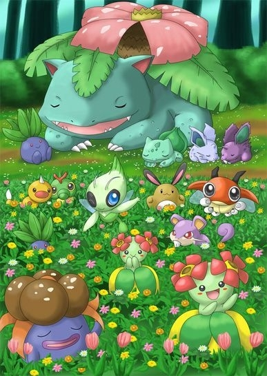 Pokemon Grass Background Posted By John Anderson