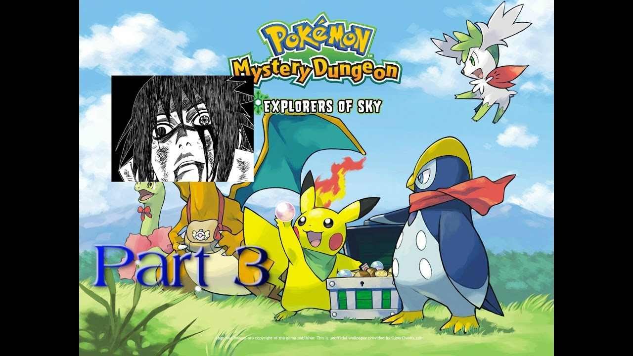 Pokemon Mystery Dungeon Explorers Of Sky Wallpaper Posted By Ryan
