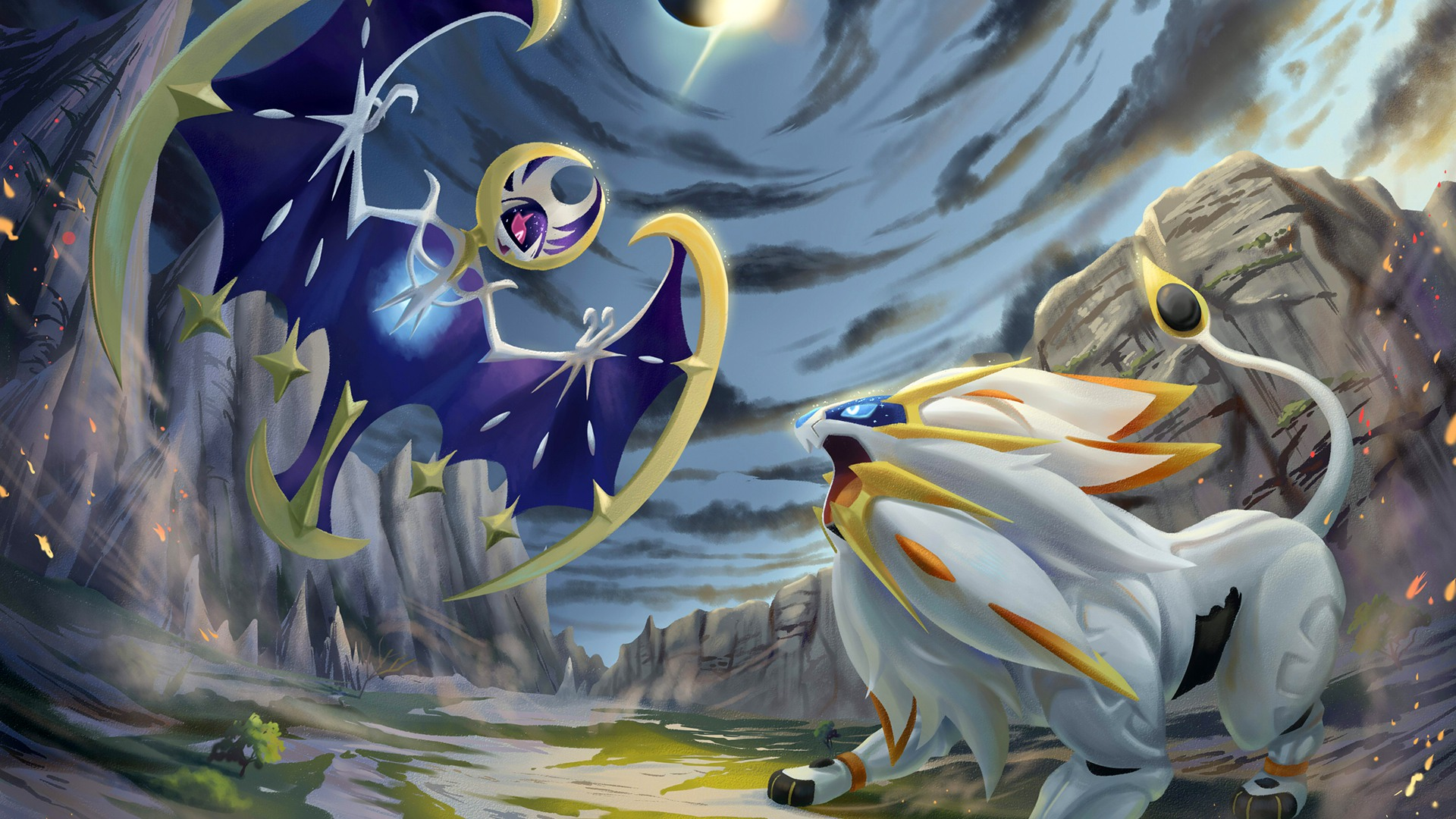 Pokemon Sun And Moon Wallpaper Hd Posted By Samantha Tremblay