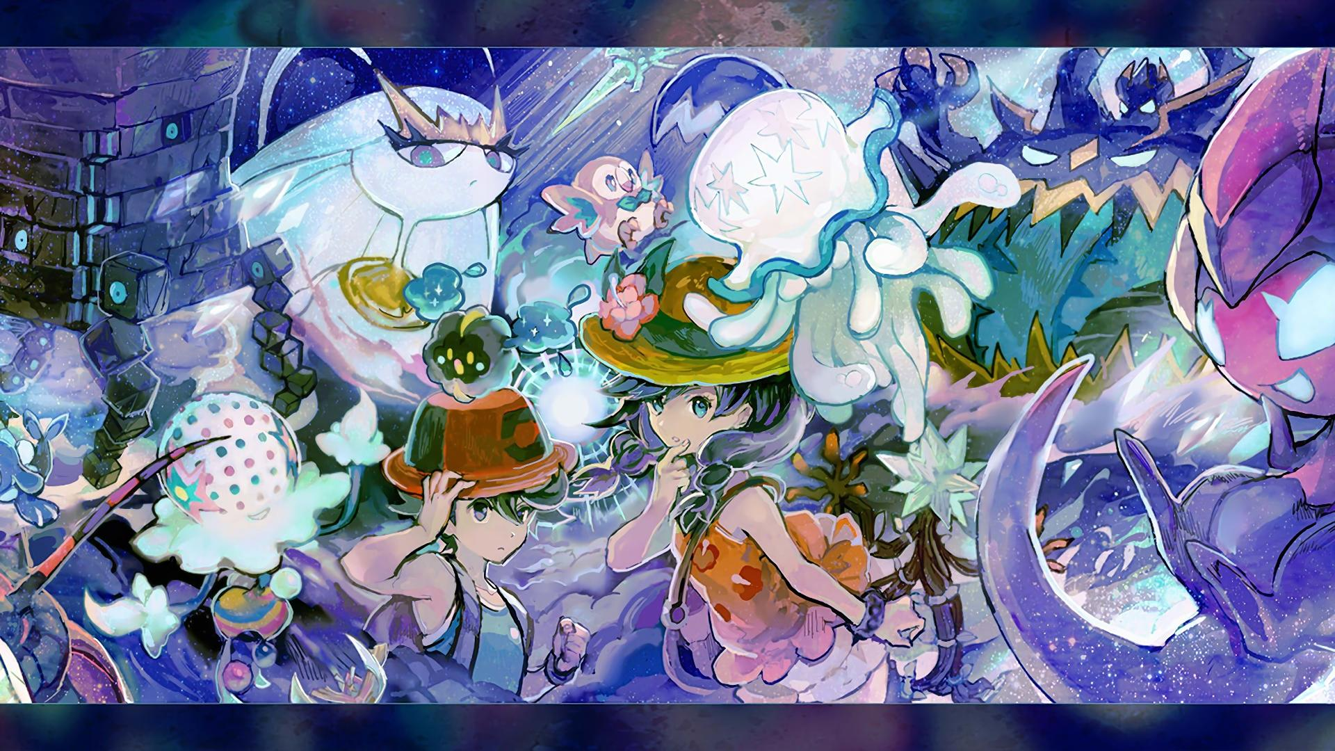 Pokemon Ultra Moon Wallpaper Posted By Sarah Mercado