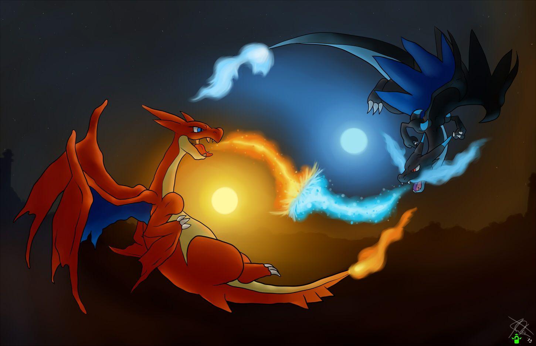 Pokemon Wallpaper Mega Charizard Posted By Zoey Thompson