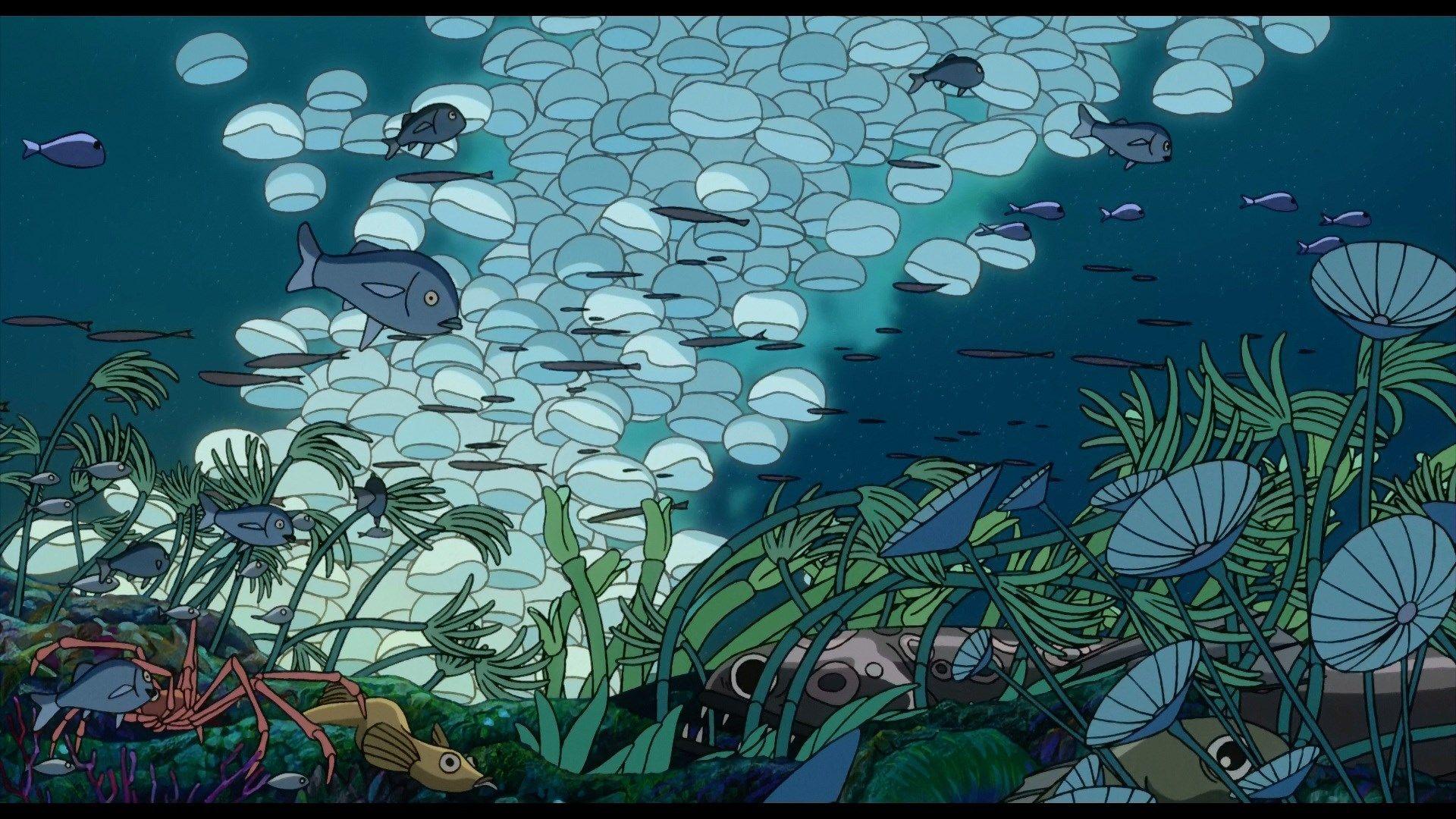 Ponyo Desktop Wallpaper Posted By Ryan Peltier