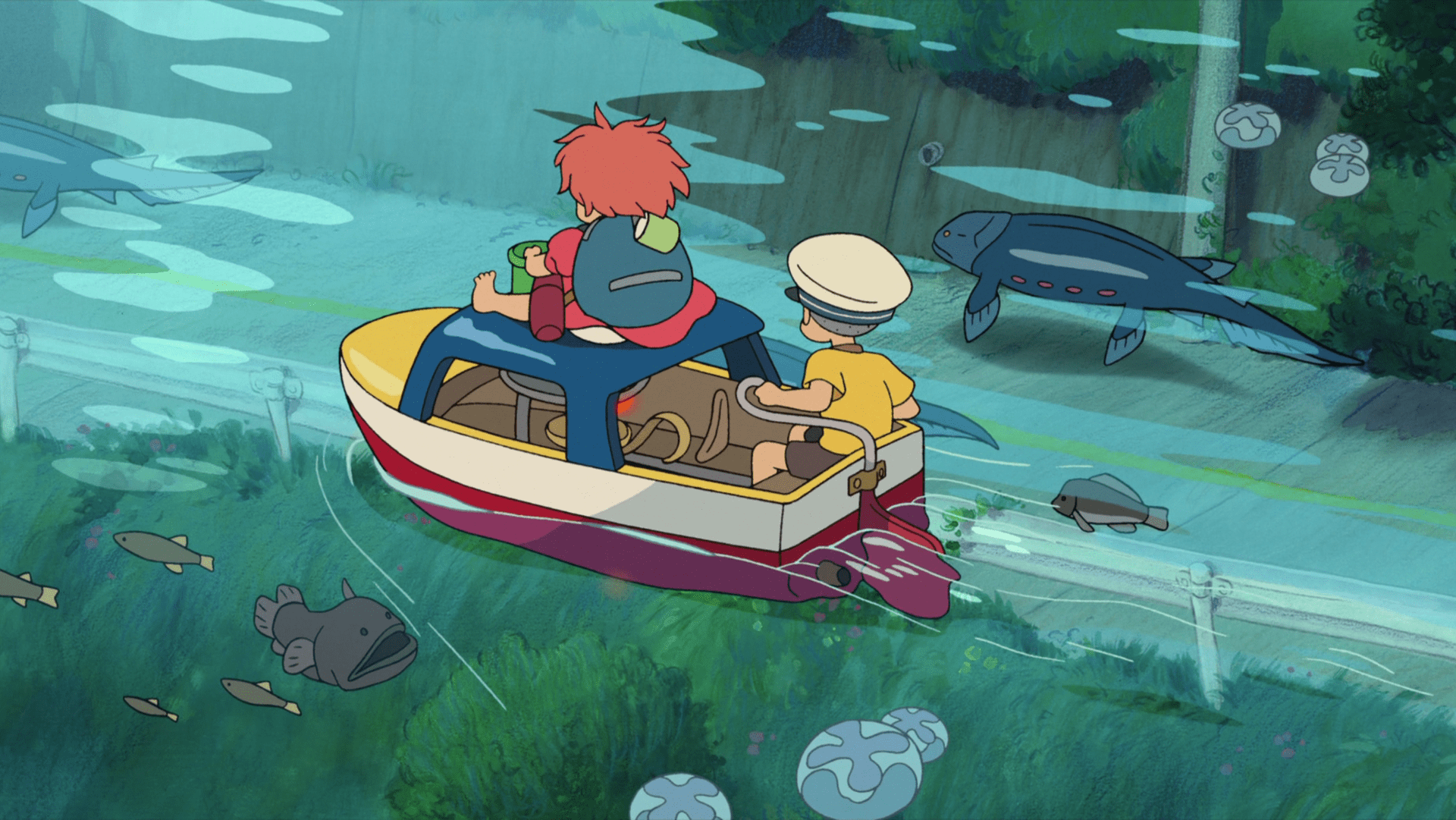 Ponyo On The Cliff Wallpapers Posted By Sarah Tremblay