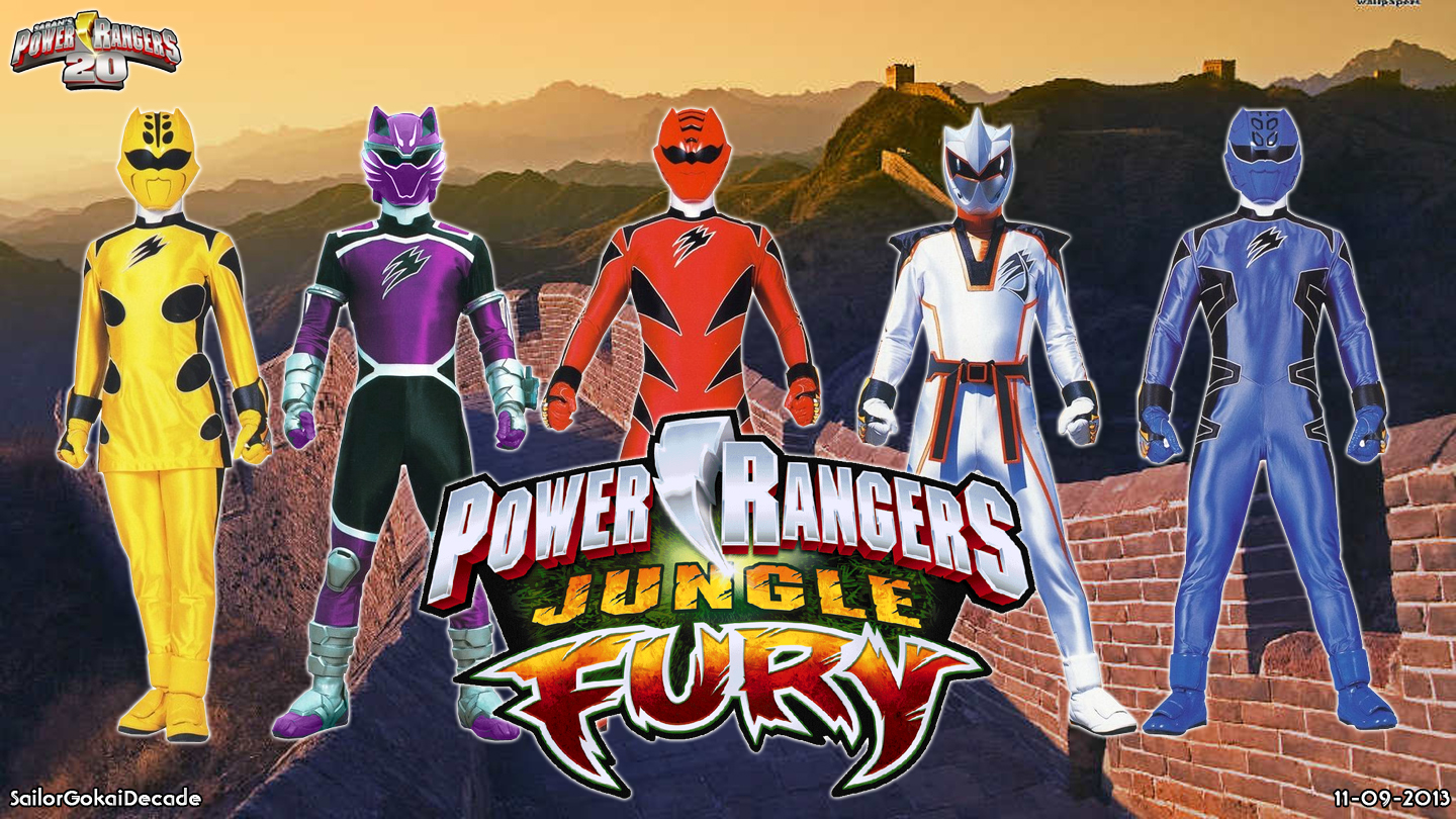 Power Rangers Jungle Fury Wallpaper Posted By Michelle Simpson