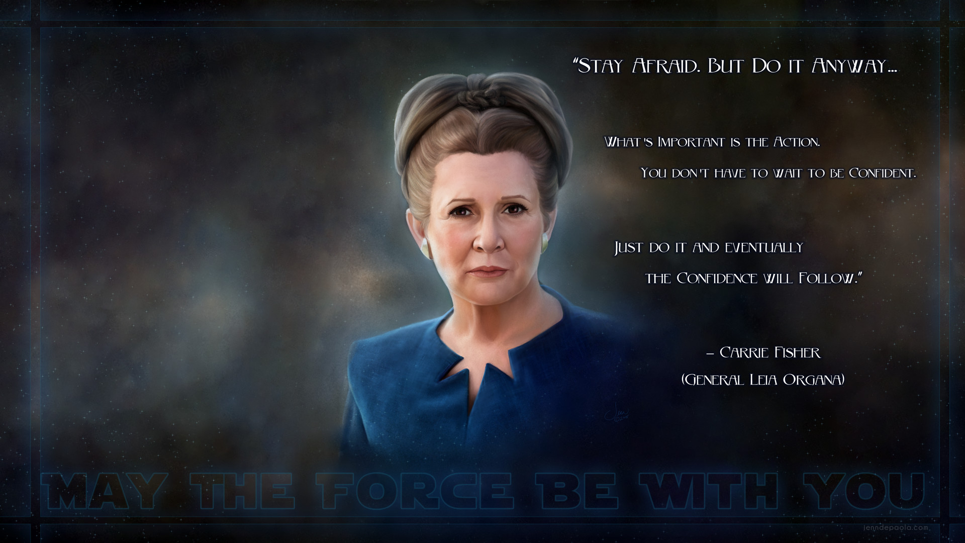 Princess Leia Wallpaper Posted By Michelle Simpson