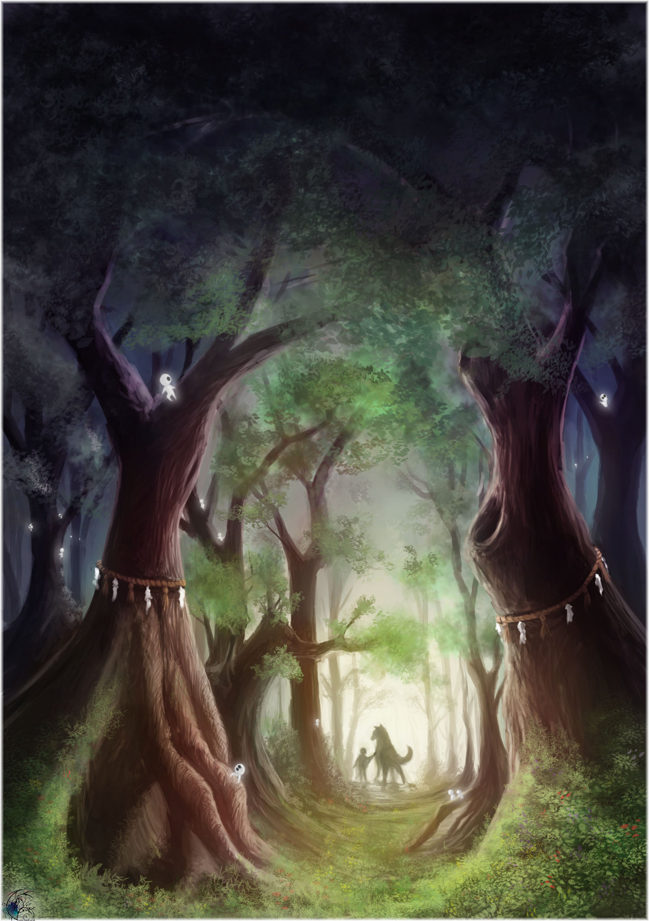 Princess Mononoke Phone Wallpaper Posted By John Thompson