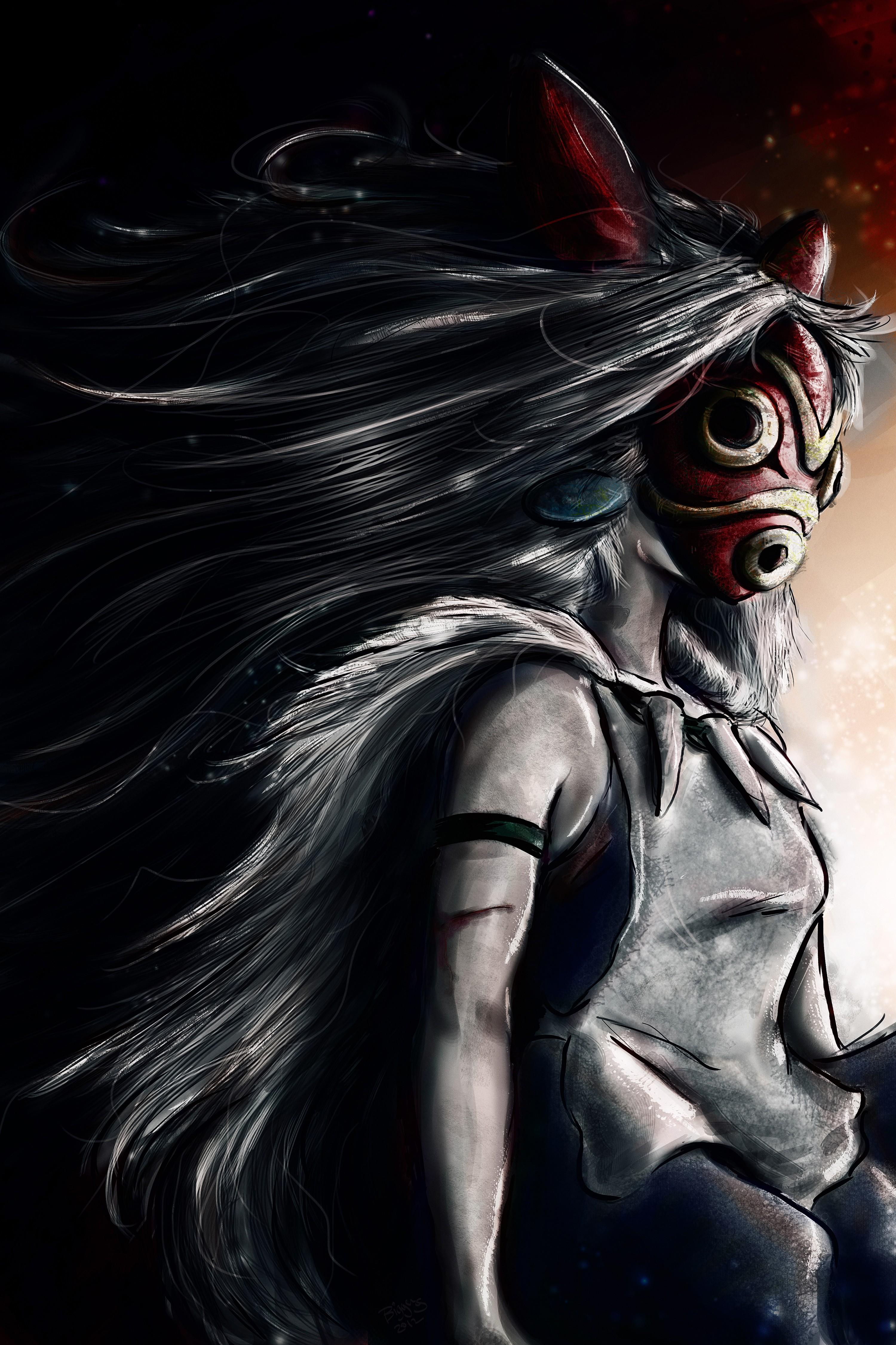 Princess Mononoke Wallpaper Hd Posted By John Simpson
